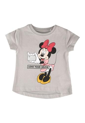 FOX Kids & Baby grey Baby Girls Minnie Print Tee 9E3AEKA3899DCEGS_1