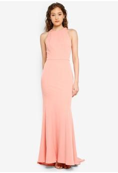 4e106bafe1f3f JARLO LONDON pink Lila Dress 8EC22AA6B6AB2CGS_1
