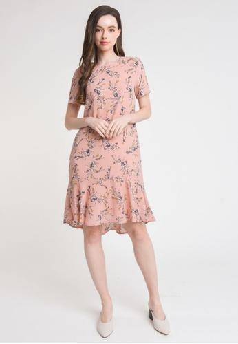 L'zzie pink LZZIE DESTINY DRESS - PINK BC6FBAA4161F2AGS_1