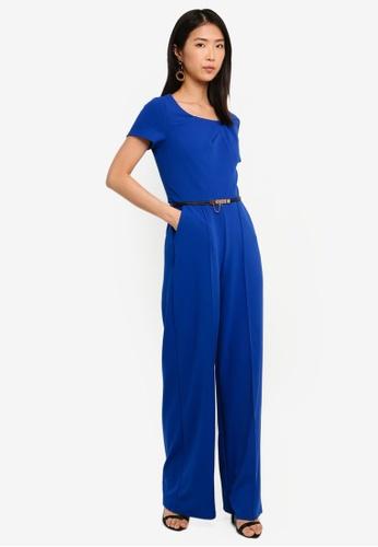 Paper Dolls blue Cobalt Jumpsuit 6410CAAD7CE02BGS_1