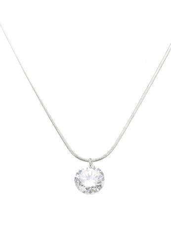 ALDO silver Mealonna Necklace F61E9AC40B8CB2GS_1