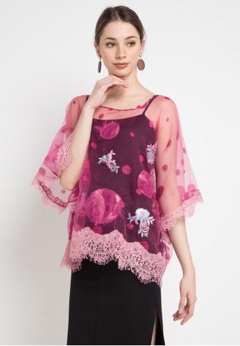 LUIRE by Raden Sirait pink Or-Tangan Renda 98727AA338F9F8GS_1