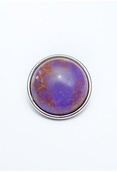 Purple Planet Gemstone Snap