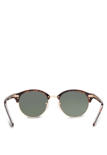 90d63e6e35 Shop Ray-Ban Clubround RB4246 Sunglasses Online on ZALORA Philippines