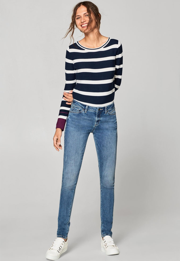 Skinny Jeans ESPRIT Washed ESPRIT Washed Blue 8wtxqFCC