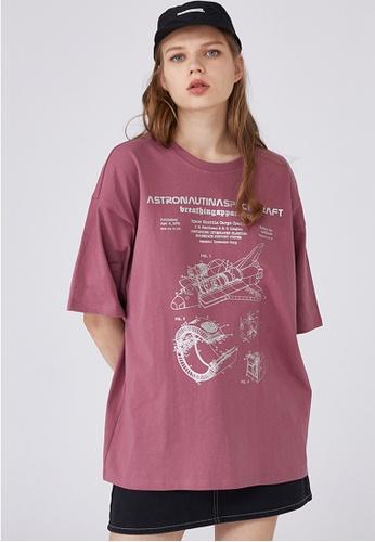 Twenty Eight Shoes Trend Printed T-Shirts HH0064 60E2BAA18A0236GS_1