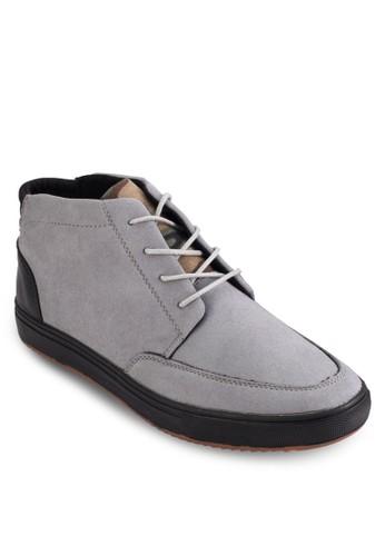 四眼繫帶低esprit 兼職筒踝靴, 鞋, 鞋