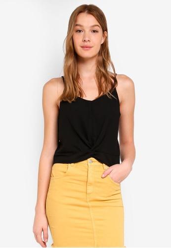 Cotton On black Riley Cami Top 0F15CAA15A37B9GS_1