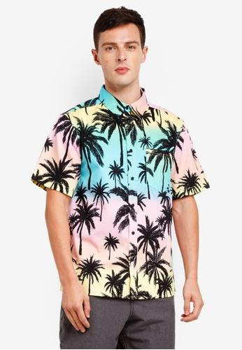 Factorie 多色 Short Sleeve Oversized Shirt 792EBAABE45441GS_1