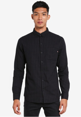 Cotton On black Brunswick Shirt 5BBADAA77952BBGS_1
