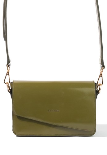 Starke Leather Co green STARKE's Leather Hand Bag Shoulder Bag Classic Bag Dainty Fallow Green Olive 80F04AC2C40D13GS_1