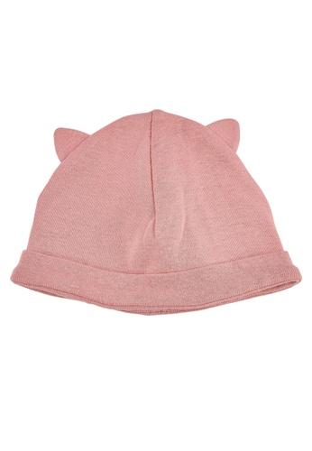 Du Pareil Au Même (DPAM) pink Newborn Beanie 3B057KC05D651EGS_1