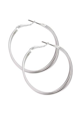 niko and ... silver Hoop Earrings 27880AC9953FAFGS_1