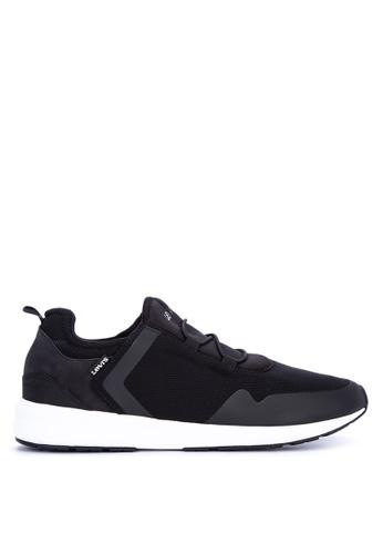 Levi's black Black Tab Slip On Sneakers LE892SH0KDBHPH_1
