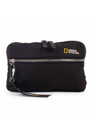 National Geographic black National Geographic Research Bum Bag 1F9F3ACBC2EC42GS_1