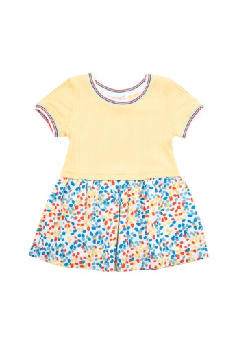 Gingersnaps GINGERSNAPS JELLY BEAN BABY DRESS MULTICOLOR 9B50FKAB62BF7FGS_1