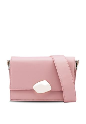 nose pink Ornamented Crossbody Bag A5378AC0A8DEB1GS_1