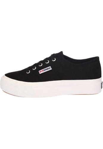 paperplanes black SNRD-117 Women Casual Stylish Platform Canvas Sneakers Shoes PA110SH61OZMHK_1
