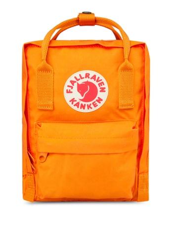 Fjallraven Kanken orange Burnt Orange Kanken Mini Backpack FJ859AC91CRWSG_1