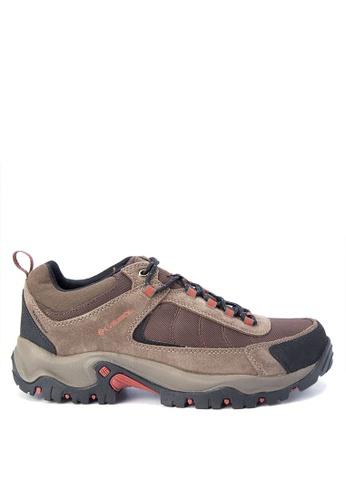 Columbia brown Granite Ridge Waterproof Men's Shoes    CO143SH0KCVKPH_1