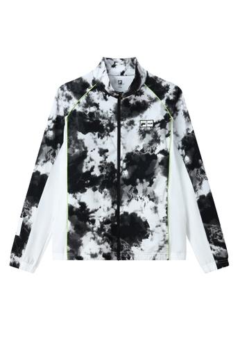 FILA black FILA x MSGM Tie Dye Color Blocks Jacket 7792CAAE33F8EEGS_1