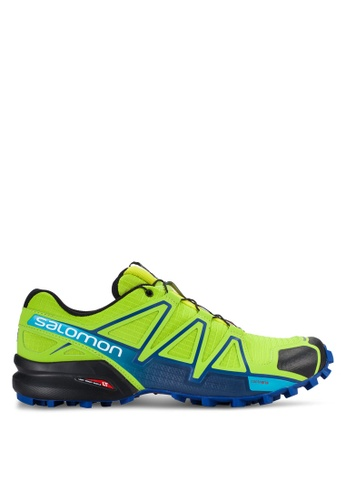 Salomon green Speedcross 4 Shoes SA438SH46WCJMY_1