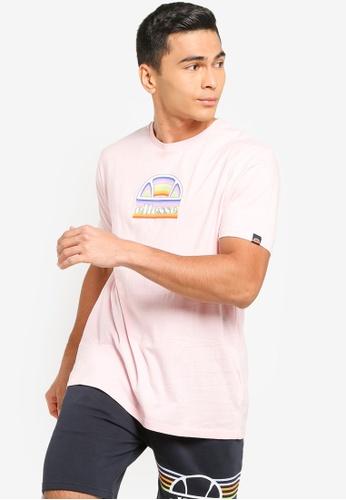 Ellesse pink Puoi Tee 6B553AA73B3A00GS_1