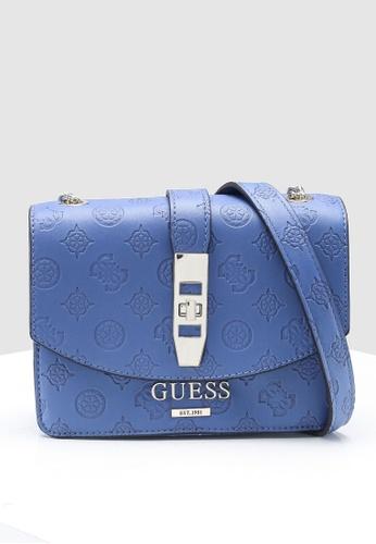 18699fea27 Buy Guess Peony Classic Mini Crossbody Flap Bag Online   ZALORA Malaysia