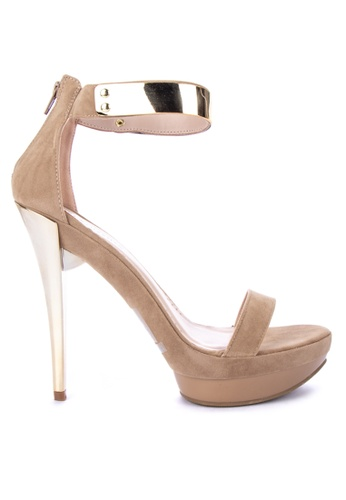 8b844e5cb56 Shop Gibi Ankle Strap High Heels Online on ZALORA Philippines