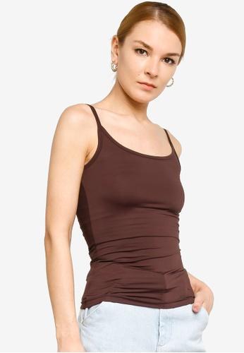 Gene Martino brown Inner Wear Camisole 962FFAA434712BGS_1