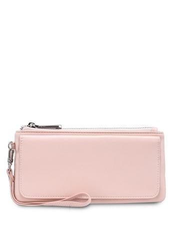 nose pink Plain Long Wallet 632F6AC391187FGS_1