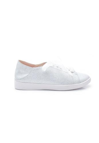 Elisa Litz silver Miles Sneakers (Silver) BE34CSHD4A0397GS_1