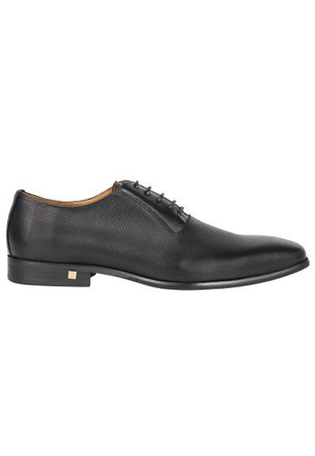 Tomaz black Tomaz F110 Plain Toe Oxford (BLACK) D39FCSH31C37CEGS_1