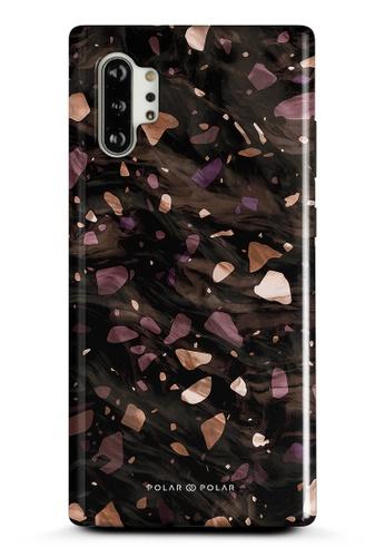 Polar Polar brown Eminence Terrazzo Gem Dual-Layer Tough Case Glossy For Samsung Galaxy Note10 Plus 266A8ACBF62E5AGS_1