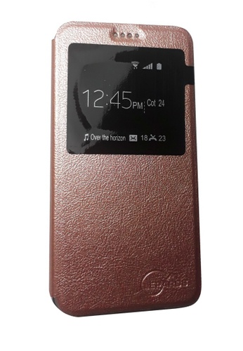 super popular 80e7c 8f263 Leather Flip Cover for Samsung Galaxy J7 Prime