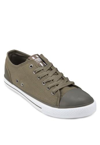 LAS VEGAS 繫帶帆布鞋zalora時尚購物網評價, 鞋, 鞋