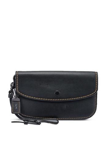 Coach black Leather Clutch (cv) BE285ACD9EF1E2GS_1