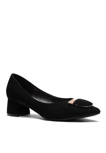 Twenty Eight Shoes black 4.5CM Pointy Pumps  999-57 FD0D6SHCFCEC2CGS_1
