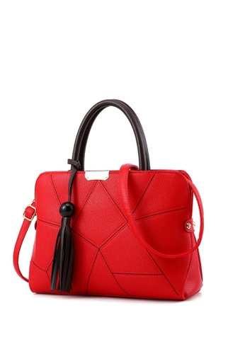 TCWK red Ladies Handbag TC258AC17KACMY_1