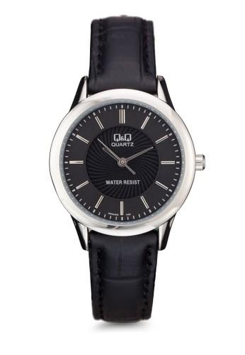Q&Q Q949J302Y 細帶仿皮手錶, 錶類, 其esprit分店它錶帶