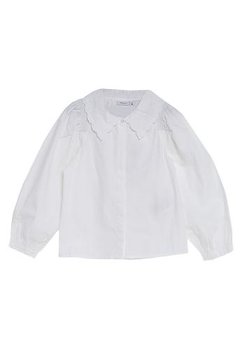 NAME IT white Obodil Long Sleeves Shirt ABEABKA66BF3EBGS_1