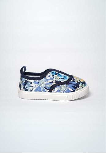 Treehouse blue Slip Ons Sneakers 3B715KS212ED37GS_1