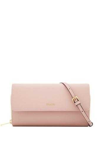 BONIA pink Blush Pink Bikki Wallet Sling F55BDAC8CFDCDFGS_1