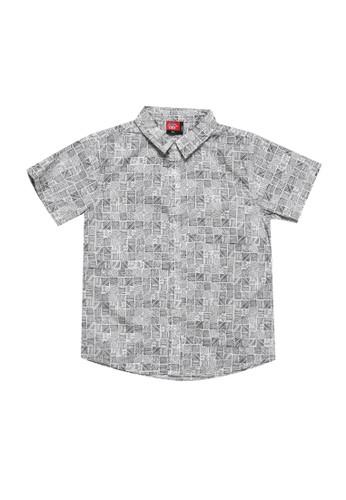 No Fear white Irregular 2 - Boys Short Sleeve Shirt 4E0E9KA8F73035GS_1