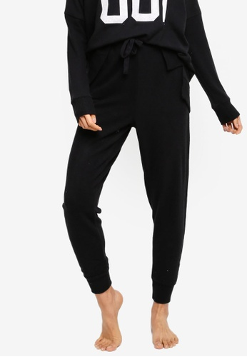 Cotton On Body black Supersoft Slim Pants 25F6FAAFD900F9GS_1