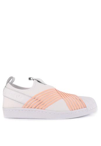 adidas white adidas originals superstar slip on w 1E207SHA49AFF4GS 1 a590fa1d090c6