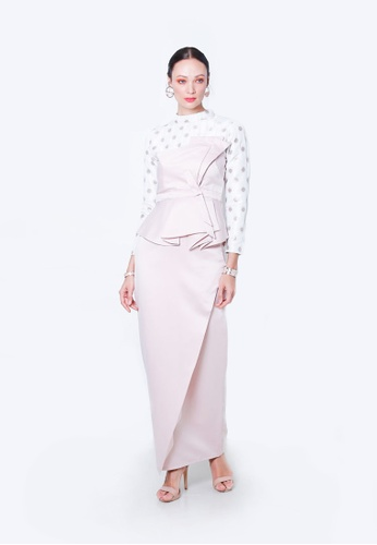MELISSA from ODDA.KL in white and Pink