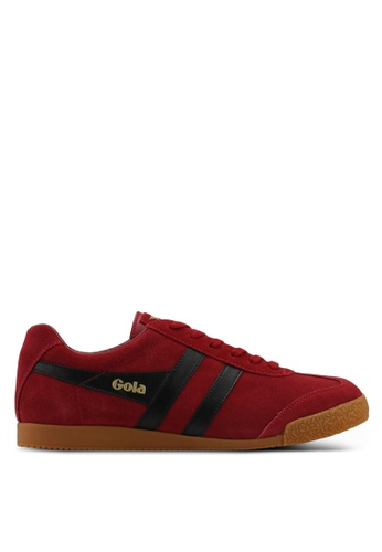 Gola red Harrier Sneakers ACA05SH0211279GS_1