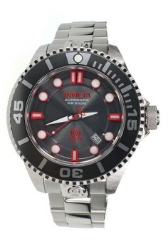 Pro Diver Men 47mm Case Stainless Steel Strap Automatic Watch 19802