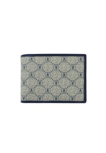 Playboy blue Rfid Blocking Bi-Fold Wallet 541E9AC8C981FAGS_1